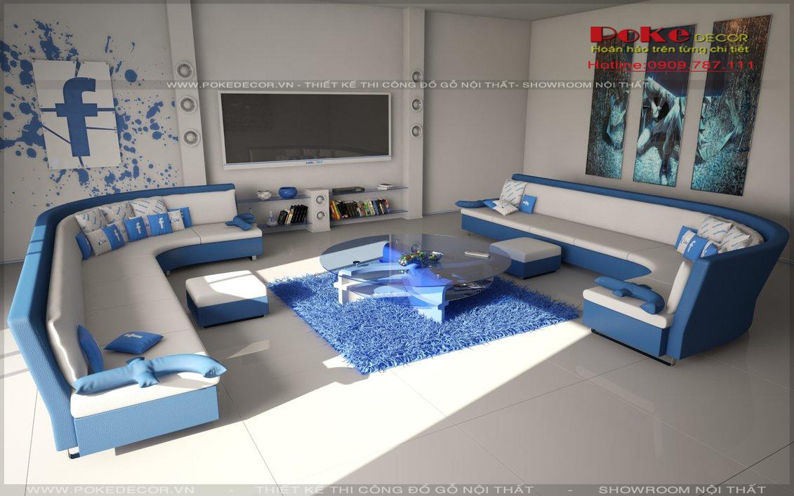 Mang cả cuộc sống vào thiết kế nội thất phòng khách hiện đại