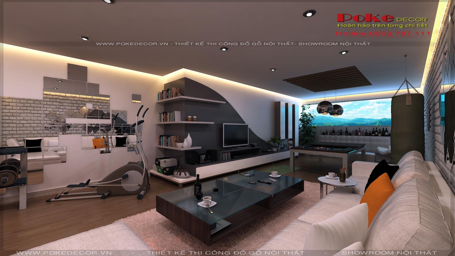 Tư vấn chọn mẫu thiết kế nội thất phòng khách đẹp
