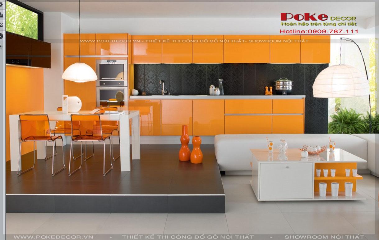 Thiết kế nội thất nhà bếp hiện đại và tiện nghi