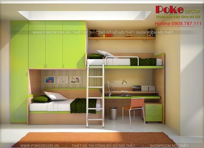 Làm gì để giảm tải cho những phòng ngủ nhỏ hẹp