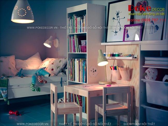 Thiết kế nội thất phòng trẻ đẹp mắt và ý nghĩa