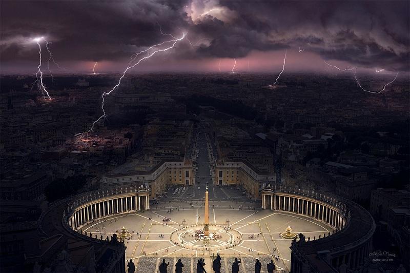 Chiêm ngưỡng vẻ đẹp khó tả của Tòa Thánh Vatican