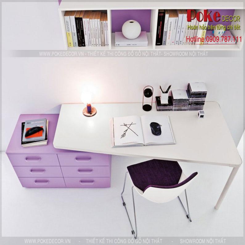 Chọn bàn học đẹp và phù hợp cho bé