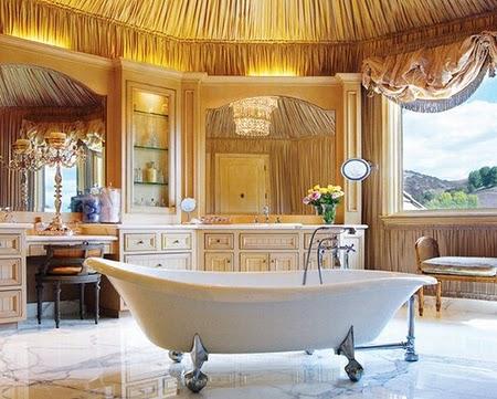 Những mẫu thiết kế phòng tắm sang trọng và hiện đại