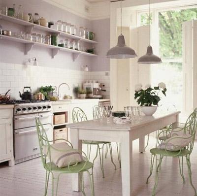 Gợi ý thiết kế nội thất nhà bếp theo phong cách đồng quê