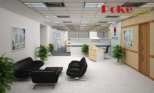 Những mẫu thiết kế nội thất văn phòng sang trọng