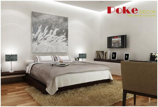 Thiết kế nội thất phòng ngủ đơn giản mà tinh tế