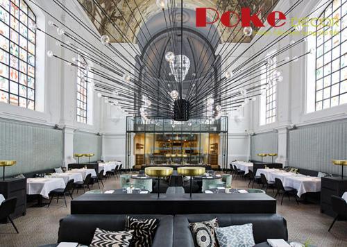 Những nội thất nhà hàng độc đáo trên thế giới