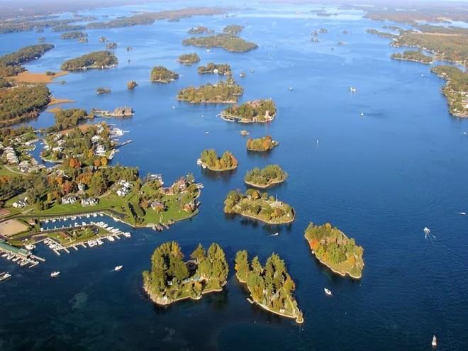 Những ngôi nhà tuyệt đẹp trên mặt nước