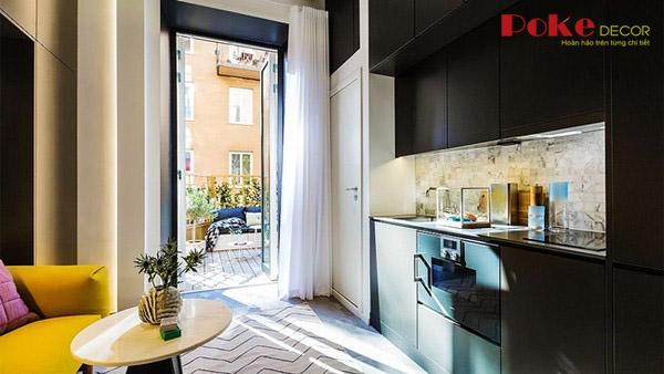 Thiết kế nội thất đầy tinh tế cho căn hộ có diện tích nhỏ