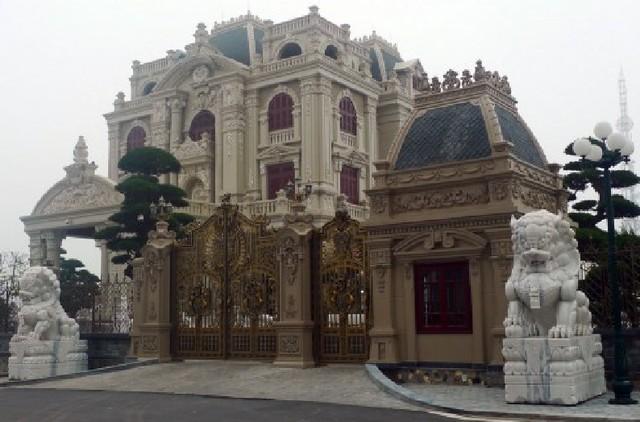 Nội thất có một không hai của toà lâu đài triệu đô ở Hà Nam