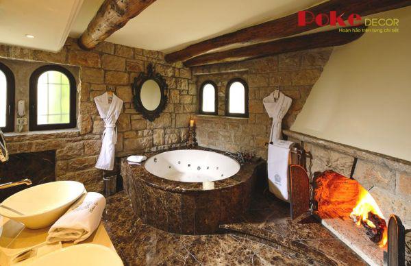 Phòng tắm kiểu Pháp đẹp say mê