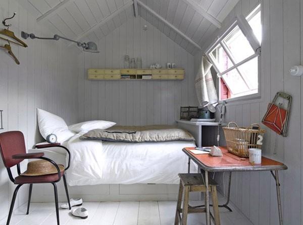 Những chiếc giường ngủ xinh xắn phù hợp với không gian hẹp