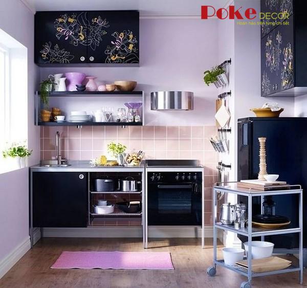 Gợi ý cách bài trí cho căn bếp nhỏ