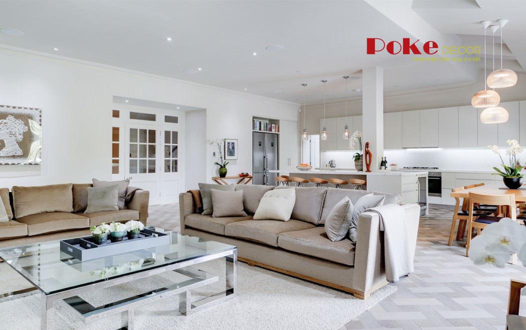Nội thất hiện đại và sang trọng trong căn nhà tại London, Anh