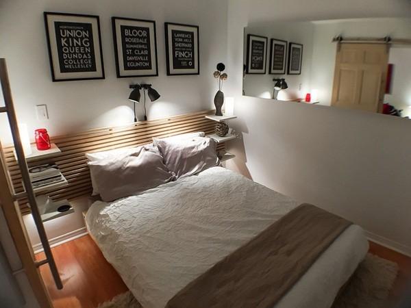 Trang trí nội thất cho phòng ngủ bé xíu