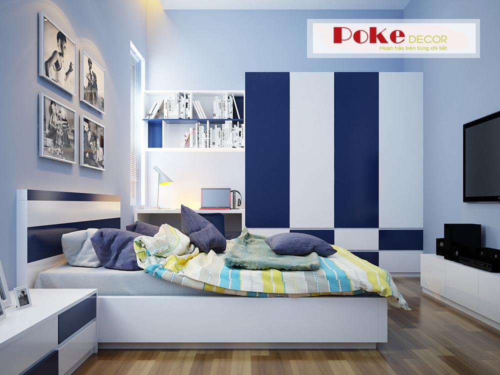 Trang trí nội thất phòng ngủ giúp bé thông minh