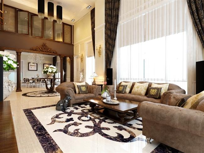 Thiết kế nội thất phòng khách cùng Pokedecor