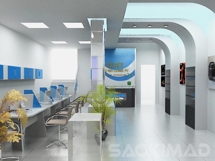 Thiết kế nội thất văn phòng cùng Pokedecor