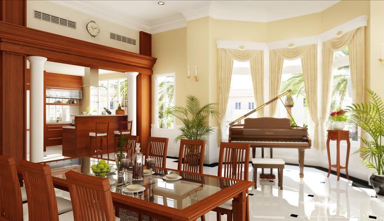 Nhà đẹp hơn với nội thất đồ gỗ
