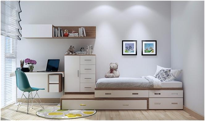 Sử dụng nội thất thông minh cho nhà chật hẹp