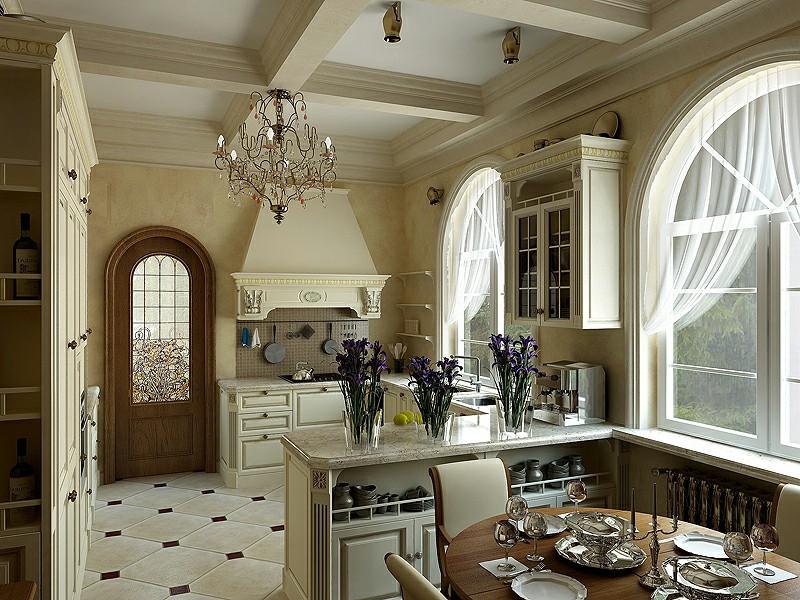 Thiết kế nội thất phòng bếp đẹp xinh