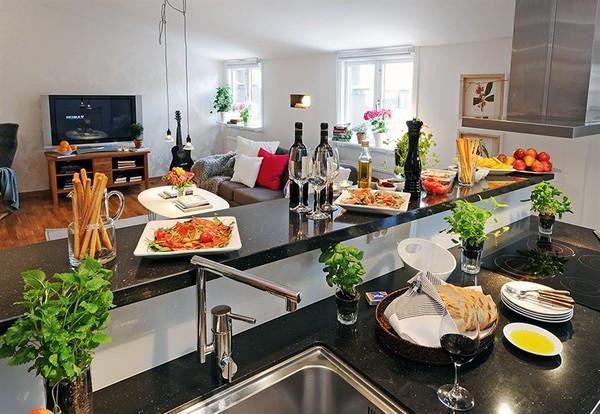 Cách để phòng bếp nhà bạn thêm đẹp xinh