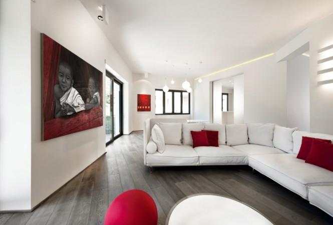 Tinh tế và thanh lịch với phòng khách mang phong cách tối giản